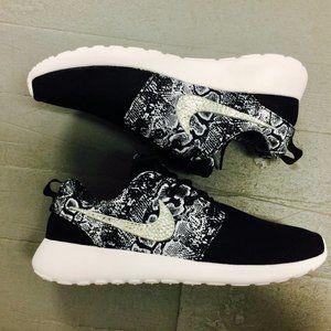 Custom Bling Nike Running Sneaker Sport Shoes F6